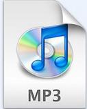 MP3格式图标