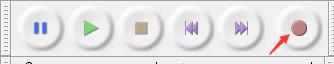 audacity开始录音按钮