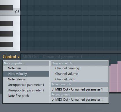 FL Studio没有CC64控制项