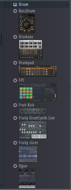 fl studio drum音源截图
